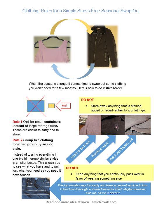 clothing seasonal swap out by Jamie Novak jpeg