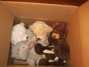 getting rid of stuffed animals