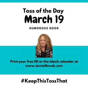 jamie novak professional organizer expert author keep this toss that