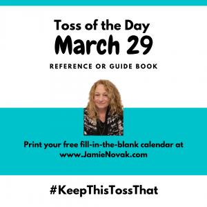 jamie novak professional organizer expert author keep this toss that