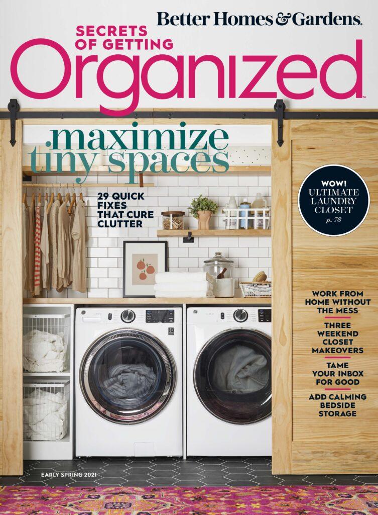 Secrets of Getting Organized Better Homes and Gardens Jamie Novak professional organizer