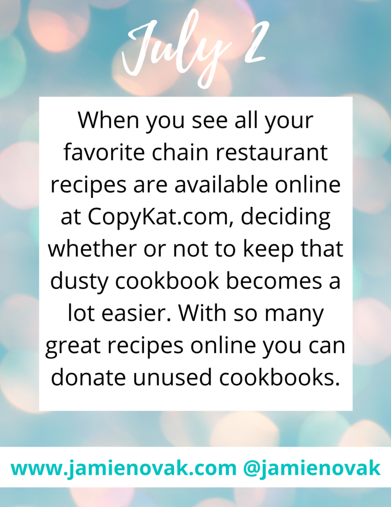 Where to find chain restaurant recipes