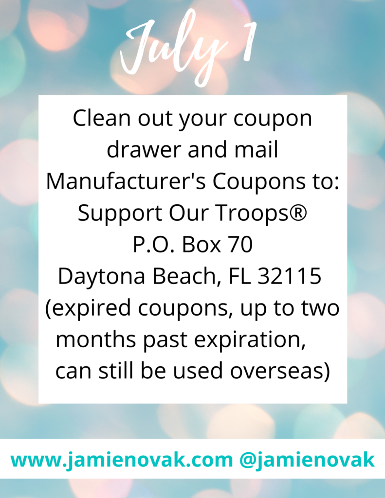 what to do with expired coupons