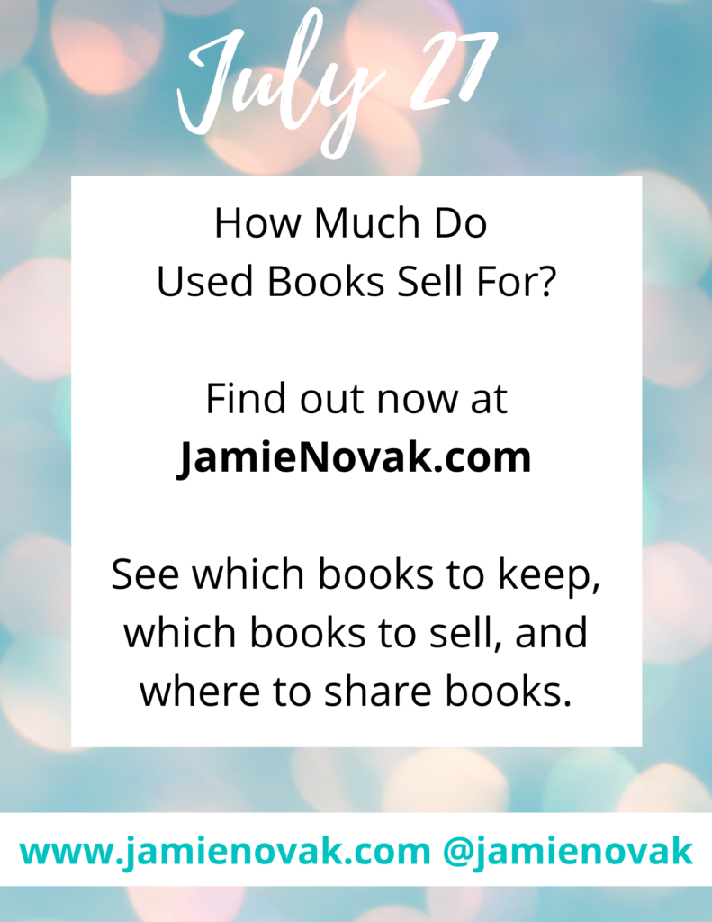 How Much Do Used Books Sell For