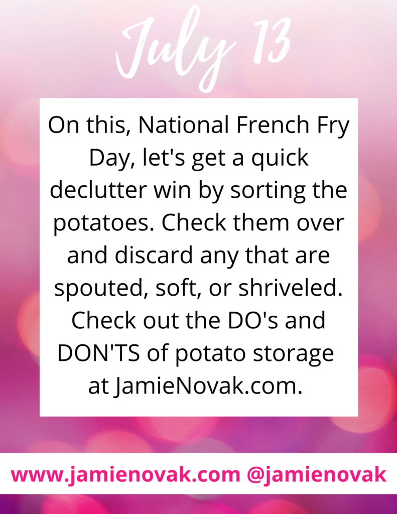 What is the best way to store potatoes