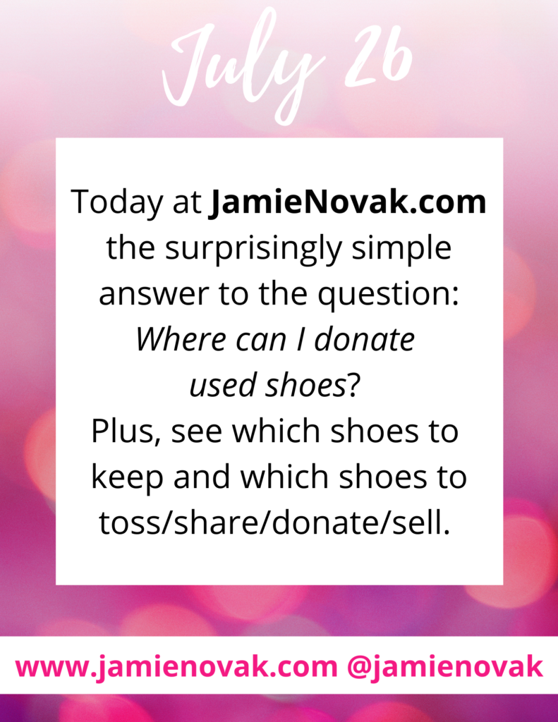 Where Can I Donate Used Shoes