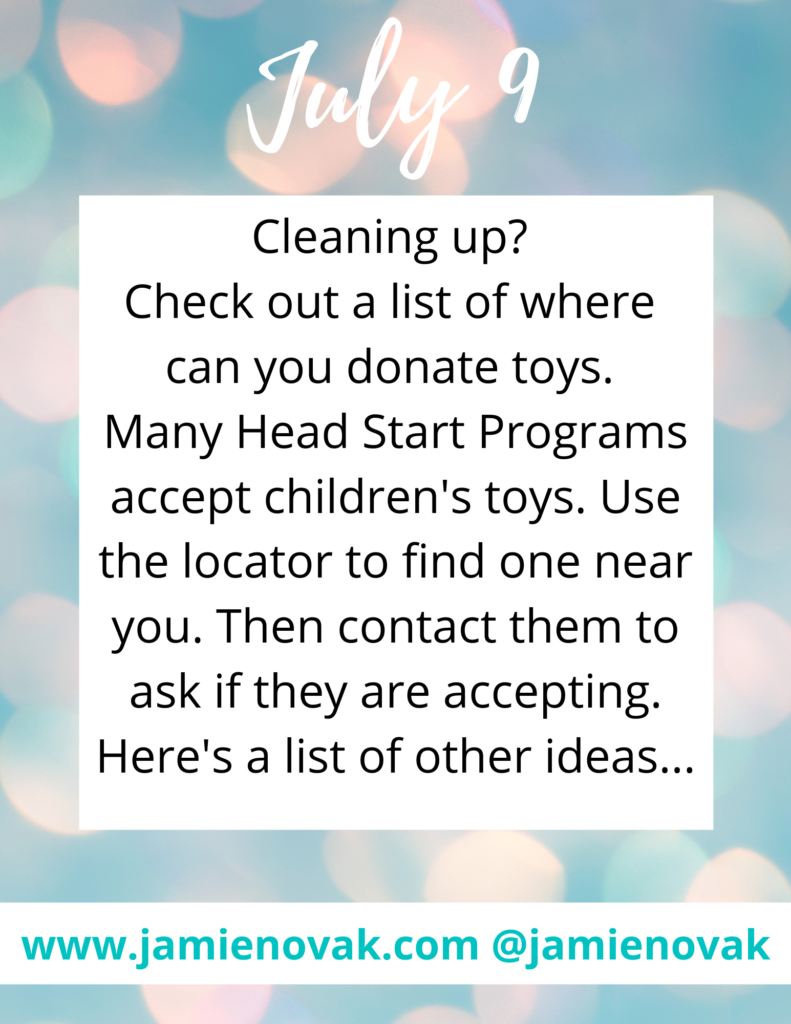 where can you donate toys