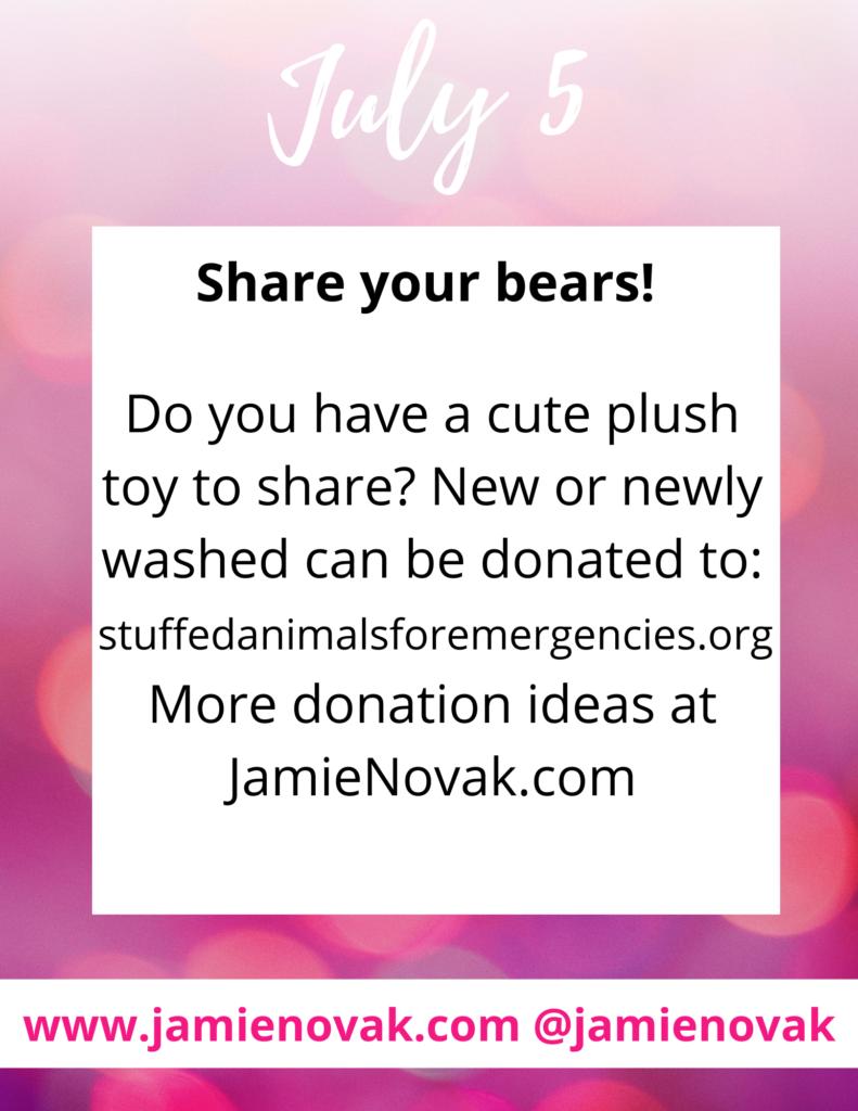 where to donate stuffed toys