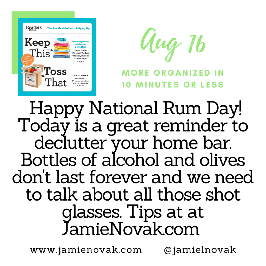Happy National Rum Day